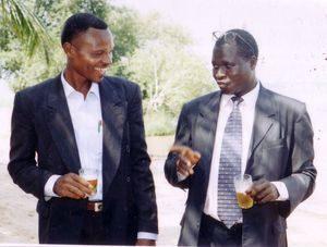 Photo des Présidents UJAP (entrant et sortant 2005)
