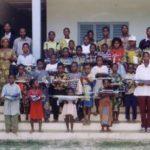 Photo de famille des récipiandaires et autorités