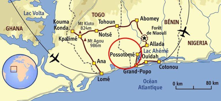Se rendre à Possotomé
